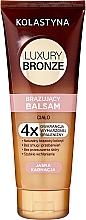 Profumi e cosmetici Balsamo corpo abbronzante leggero - Kolastyna Luxury Bronze Balm