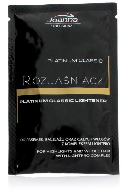 Chiarificante capelli - Joanna Professional Platinum Classic Lightener (sashet)