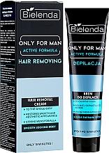 Profumi e cosmetici Crema depilatoria - Bielenda Only For Man Active Formula Cream