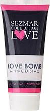 Profumi e cosmetici Gel doccia e per l'igiene intima - Sezmar Collection Love Aphrodisiac Shower Gel Love Bomb