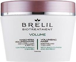 Profumi e cosmetici Maschera per volume - Brelil Bio Treatment Volume Hair Mask