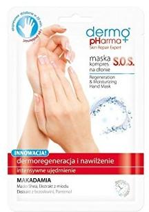 "Maschera mani ""SOS Dermorigenerazione e idratazione"" - Dermo Pharma Skin Repair Expert S.O.S. Regeneration & Moisturizing Hand Mask — foto N1"