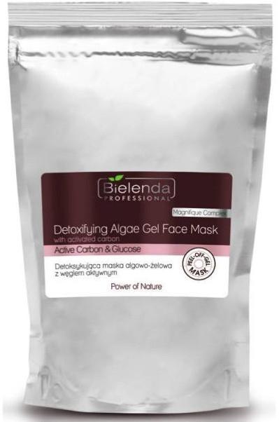 Maschera detox con carbone attivo - Bielenda Professional Power Of Nature Detoxifying Algae Gel Face Mask
