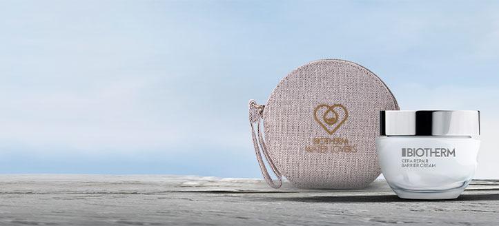 Acquistando prodotti Biotherm da 35 €, ricevi in regalo un beauty case del marchio