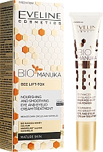 Profumi e cosmetici Crema contorno occhi anti-età - Eveline Cosmetics Bio Manuka Bee Lift-tox