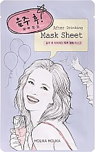 "Maschera in tessuto ""After Party"" - Holika Holika After Mask Sheet After Drinking — foto N1"