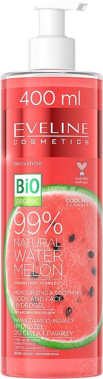 Idrogel di anguria per corpo e viso - Eveline Cosmetics 99% Natural Watermelon