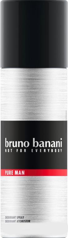 Bruno Banani Pure Man - Deodorante spray