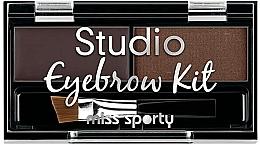 Profumi e cosmetici Set per sopracciglia - Miss Sporty Studio Eyebrow Kit (2.4 g)