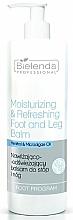 Profumi e cosmetici Balsamo piedi idratante e rinfrescante - Bielenda Professional Foot Program
