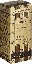 Profumi e cosmetici Olio essenziale di timo - Botanika 100% Thymus Vulgaris Essential Oil