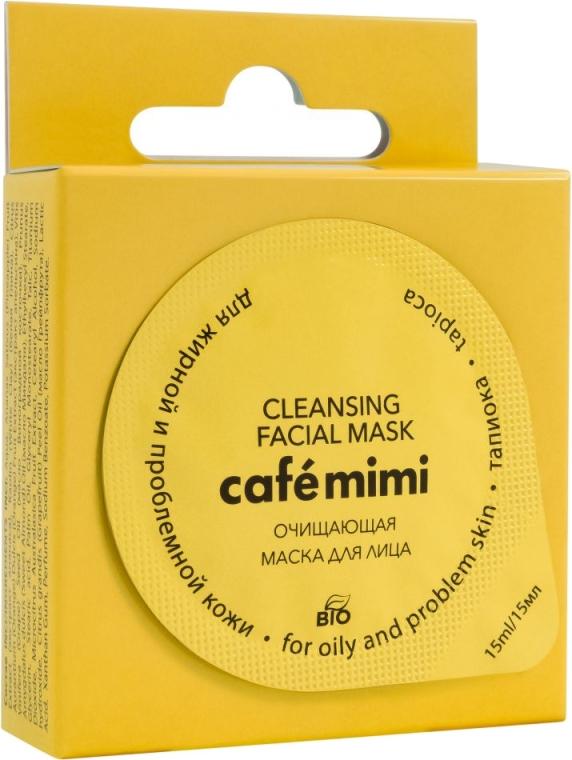 Maschera purificante per la pelle grassa e problematica - Cafe Mimi Cleansing Mask — foto N1