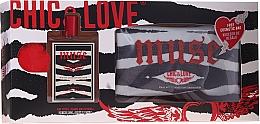 Profumi e cosmetici Chic&Love Muse - Set (edt/100ml + bag)