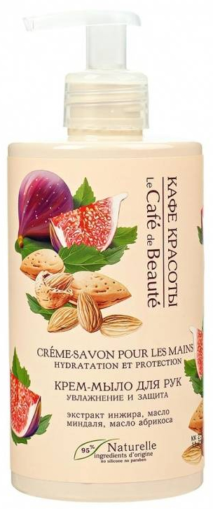 "Sapone mani ""Idratazione e protezione"" - Le Cafe de Beaute Cream Hand Soap Hydration And Protection"