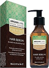 Profumi e cosmetici Siero capelli all'olio di cocco - Arganicare Coconut Hair Serum For Dull, Very Dry & Frizzy Hair