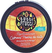 """Peeling allo zucchero per il corpo """"Pesca e Mango"""" - Farmona Tutti Frutti Sugar Scrub — foto N1"""