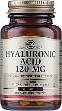 "Profumi e cosmetici Integratore alimentare ""Acido ialuronico"" 120 mg - Solgar Hyaluronic Acid"