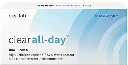 Profumi e cosmetici Lenti a contatto, 3 pz - Clearlab Clear All-day