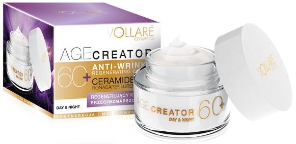 Crema rigenerante antirughe 60+ - Vollare Age Creator Regenerating Anti-Wrinkle Cream Day/Night 60+