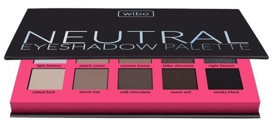 Palette ombretti - Wibo Neutral Eye Shadow Palette