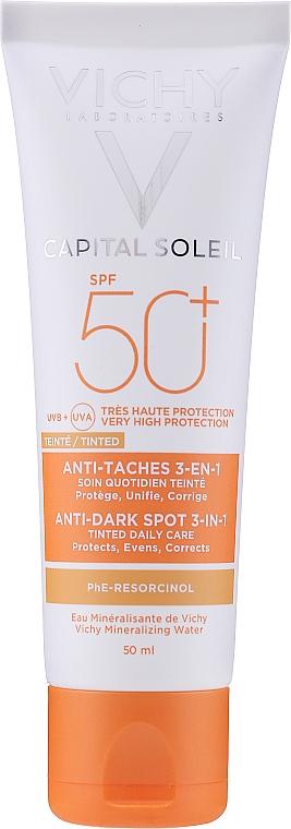 Crema anti-macchie SPF 50 - Vichy Ideal Soleil Anti Dark Spot Spf 50