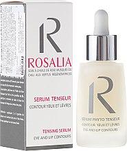 Profumi e cosmetici Siero rassodante contorno occhi e labbra - Naturado Rosalia Serum