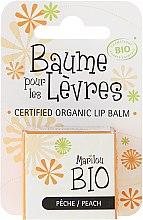 """Profumi e cosmetici Balsamo per labbra """"Pesca"""" - Marilou Bio Certified Organic Lip Balm Peach"""