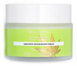 Profumi e cosmetici Crema viso idratante - Revolution Skincare CBD Nourish Boost Cream