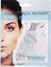 Profumi e cosmetici Maschera con collagene ed estratti di perla - Beauty Face Collagen Hydrogel Mask