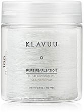 Profumi e cosmetici Dischetti esfolianti per la pulizia del viso 100pz - Klavuu Pure Pearlsation PH Balancing Quick Cleansing Pad