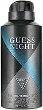 Profumi e cosmetici Guess Guess Night - Deodorante