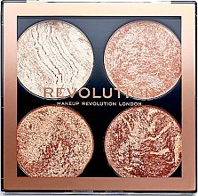 Profumi e cosmetici Palette contorno viso - Makeup Revolution Cheek Kit
