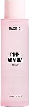 Profumi e cosmetici Tonico viso con estratto di anguria, acidi AHA e BHA - Nacific Pink AHA BHA Toner