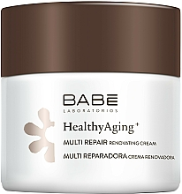 Profumi e cosmetici Crema multi-riparatrice con complesso antietà - Babe Laboratorios Healthy Aging Multi Repair Renovating Cream