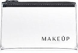 """Profumi e cosmetici Beauty case trasparente """"Flat Glow"""" 21x12cm - MakeUp"""