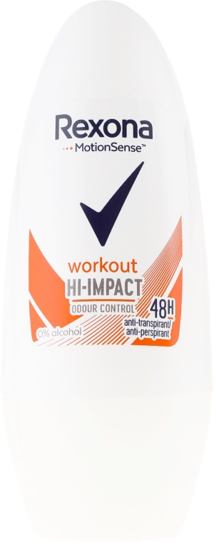 Deodorante roll-on - Rexona Motionsense Workout Hi-impact 48h Anti-perspirant — foto N1