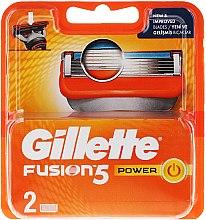 Profumi e cosmetici Lamette di ricambio - Gillette Fusion Power