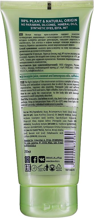 "Crema-siero corpo ""Rassodante e detox"" - Bisou Tonus And Detox Body Serum-Cream — foto N2"