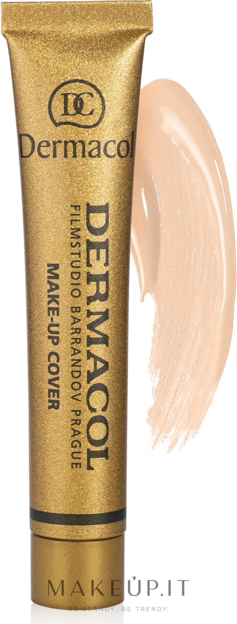 Fondotinta opaco per il viso - Dermacol Make-Up Cover — foto 207