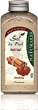 Profumi e cosmetici Sale per pediluvio  - Naturalis Sep de Pied Cinnamon Foot Salt