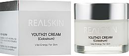Profumi e cosmetici Crema viso schiarente - Real Skin Youth 21 Cream Colostrum