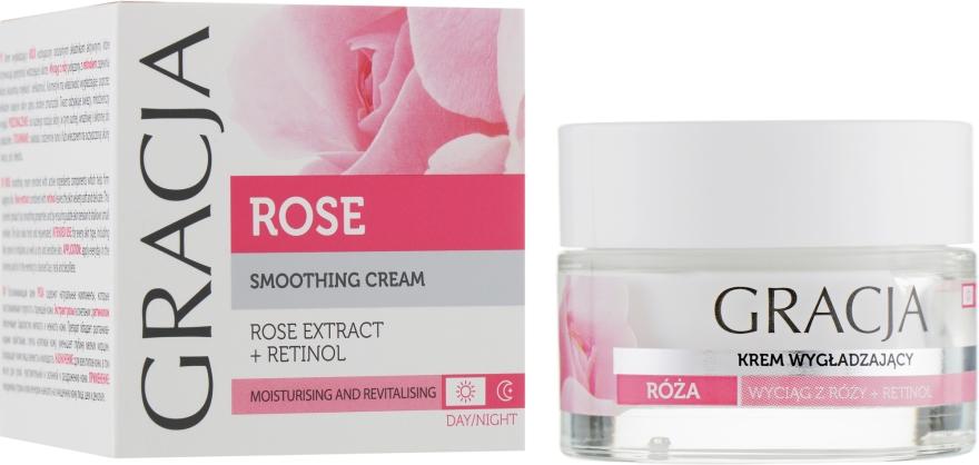 Crema viso nutriente all'estratto di rosa - Gracja Rose Face Cream