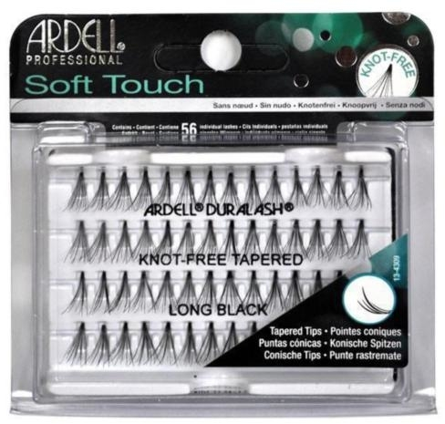 Ciglia finte a ciuffetti - Ardell Soft Touch Long Black