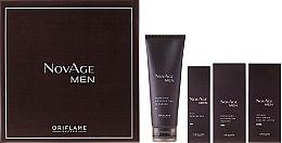 Profumi e cosmetici Set - Oriflame NovAge Men Set (gel/50ml + ser/50ml + gel/15ml + cleancer/125ml)