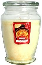 """Profumi e cosmetici Candela profumata """"Creme brulée"""" - Airpure Creme Brulee Scented Candle"""