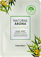 Profumi e cosmetici Maschera in tessuto - Tony Moly Natural Aroma Eucalyptus Mask Sheet