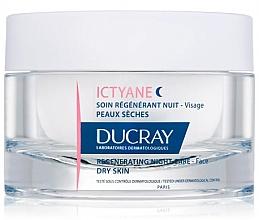 Profumi e cosmetici Crema viso rivitalizzante, da notte - Ducray Ictyane Regenerating Night Care