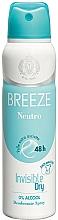 Profumi e cosmetici Breeze Deo Spray Neutro 48h - Deodorante corpo