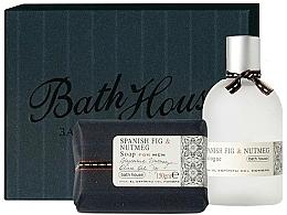 Profumi e cosmetici Bath House Spanish Fig and Nutmeg - Set (edc/100ml + soap/150g)