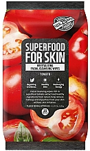 "Profumi e cosmetici Salviette detergenti viso ""Pomodori"" - Superfood For Skin Fresh Food Facial Cleansing Wipes"